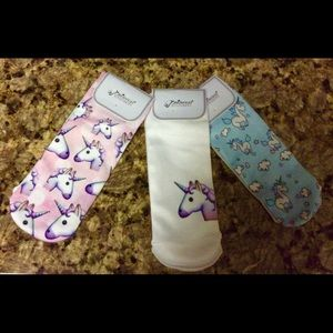 Other - 8-10 yrs old Girl's NEW Unicorn ankle socks
